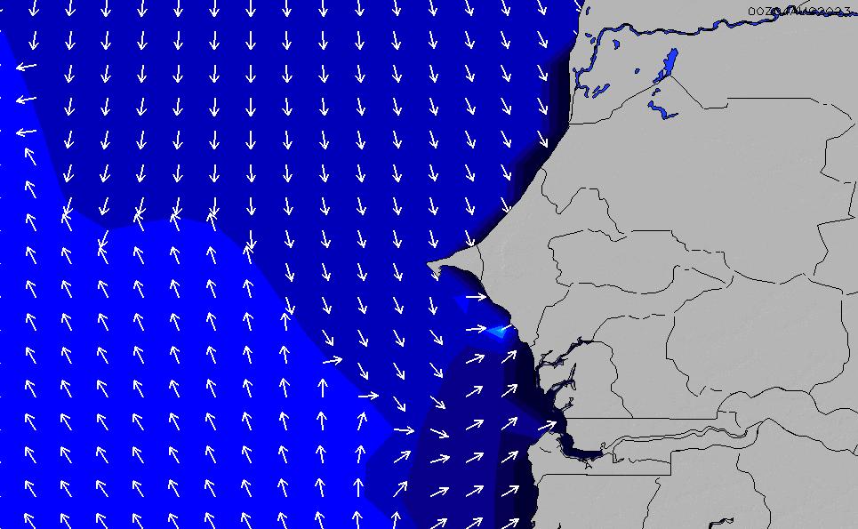 2021/3/3(水)12:00ポイントの波周期