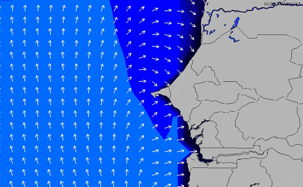 2020/9/23(水)12:00ポイントの波周期