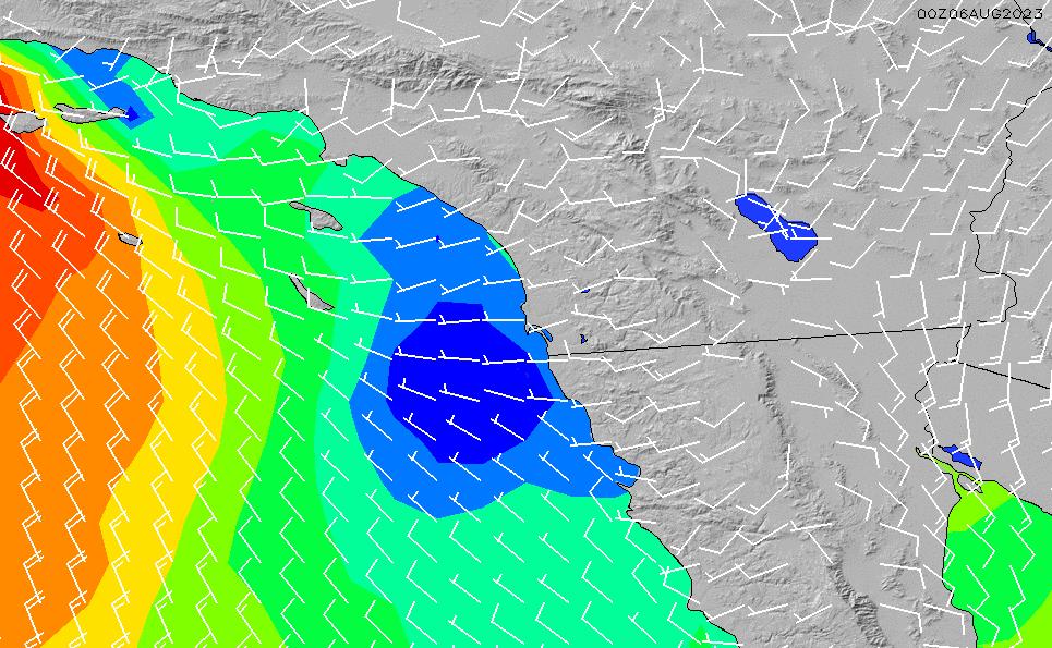 2021/5/17(月)13:00風速・風向