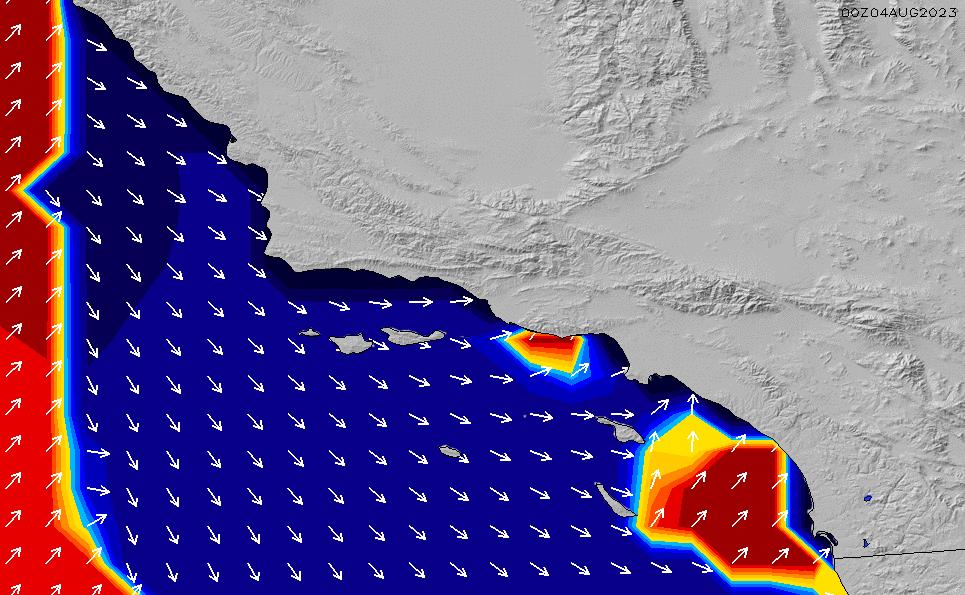 2021/5/12(水)13:00ポイントの波周期
