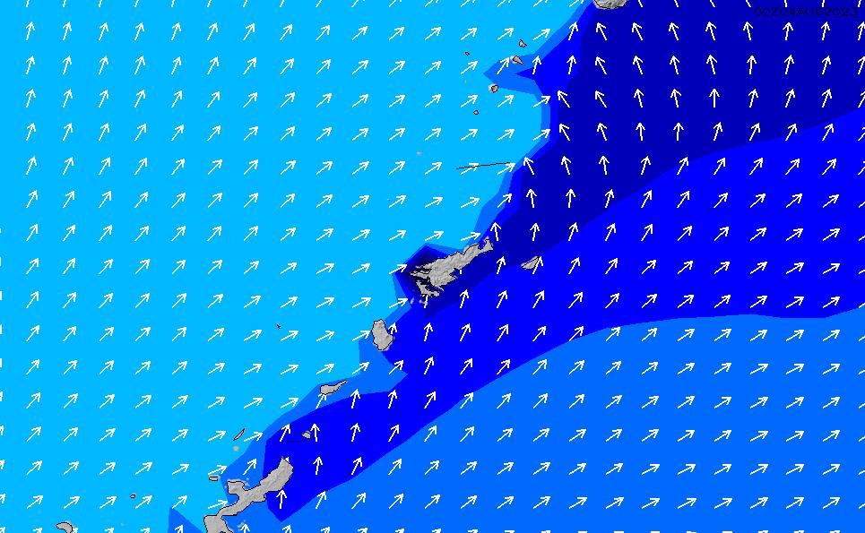 2020/9/20(日)15:00ポイントの波周期