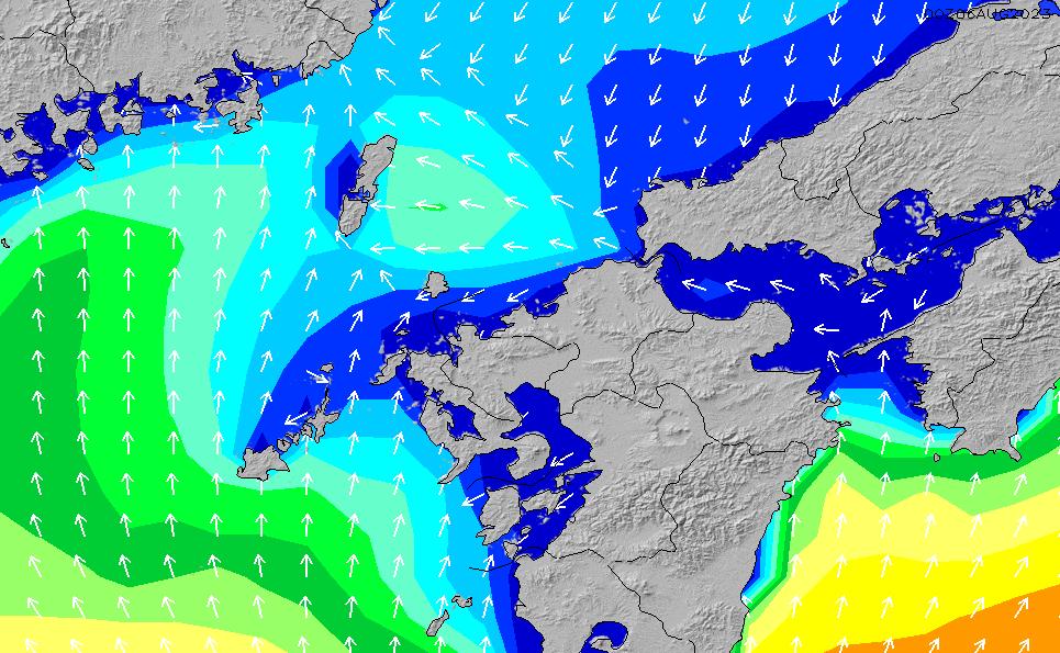 2020/9/30(水)3:00波高チャート