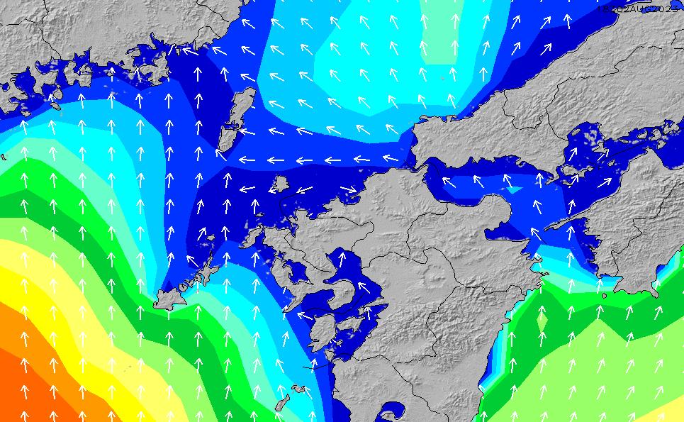 2020/1/29(水)9:00波高チャート
