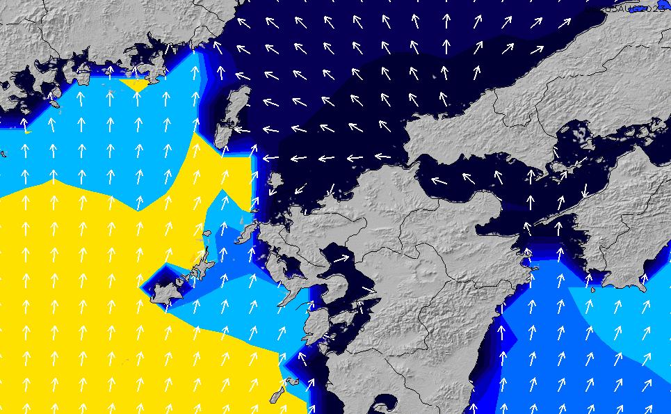 2020/9/30(水)3:00ポイントの波周期