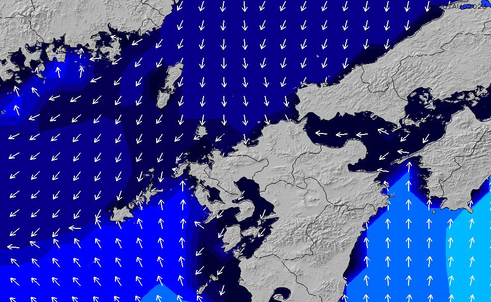2020/1/23(木)9:00ポイントの波周期