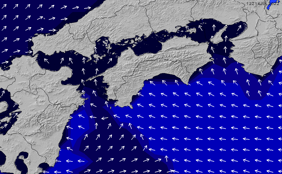 2020/1/27(月)9:00ポイントの波周期