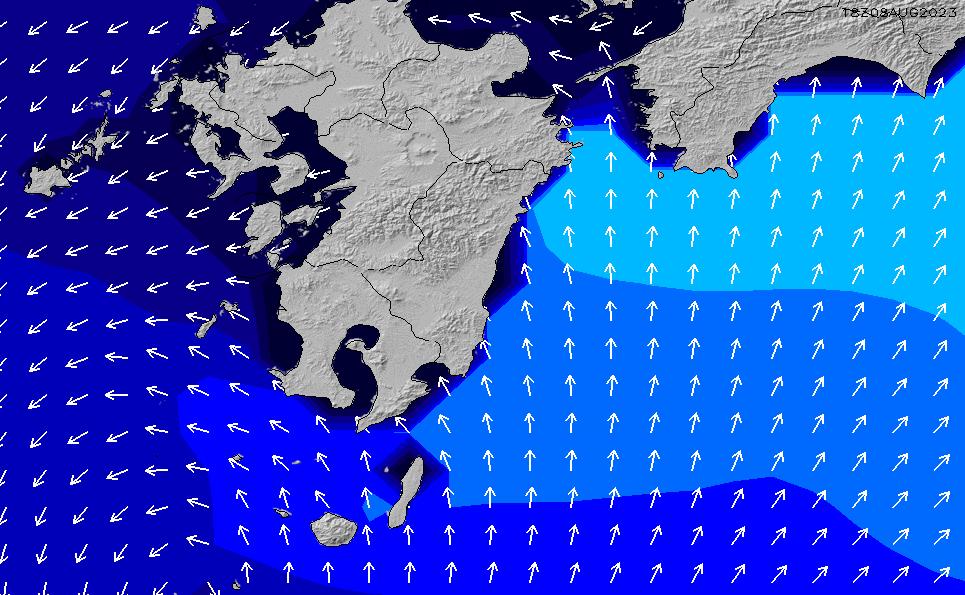 2021/4/12(月)3:00ポイントの波周期