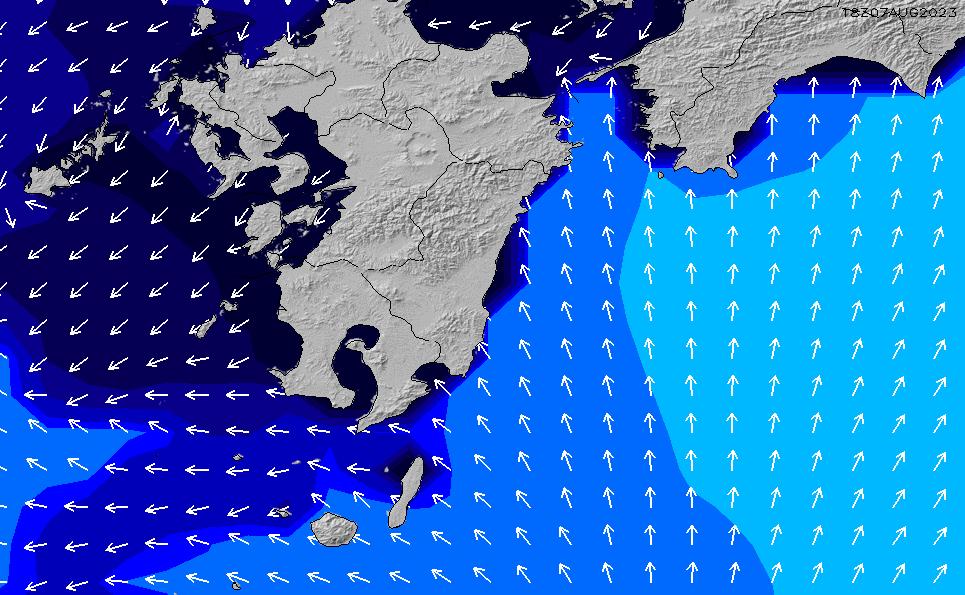 2020/1/20(月)9:00ポイントの波周期