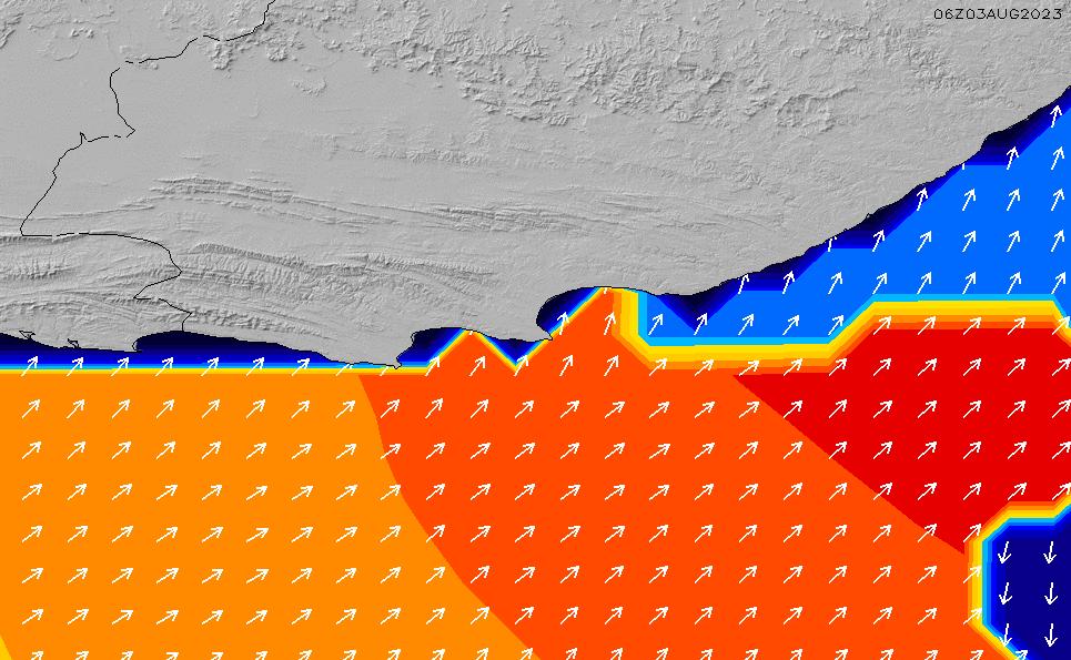 2021/5/14(金)8:00ポイントの波周期