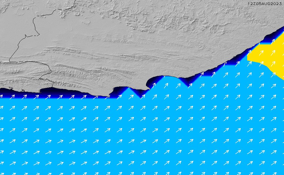 2020/6/5(金)8:00ポイントの波周期