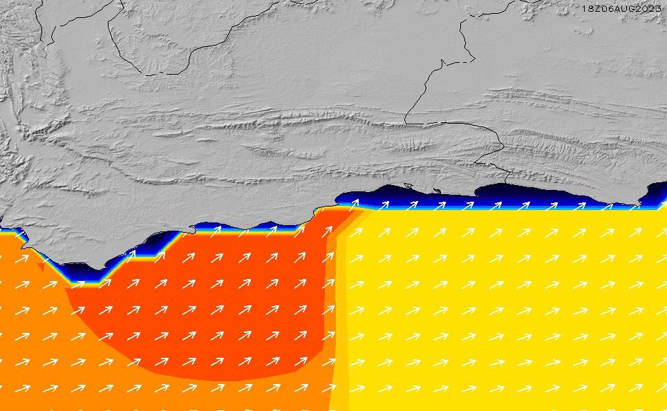 2021/3/6(土)2:00ポイントの波周期