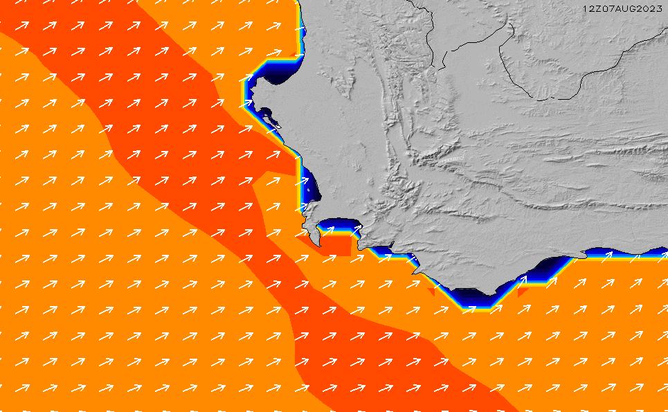 2020/3/29(日)8:00ポイントの波周期