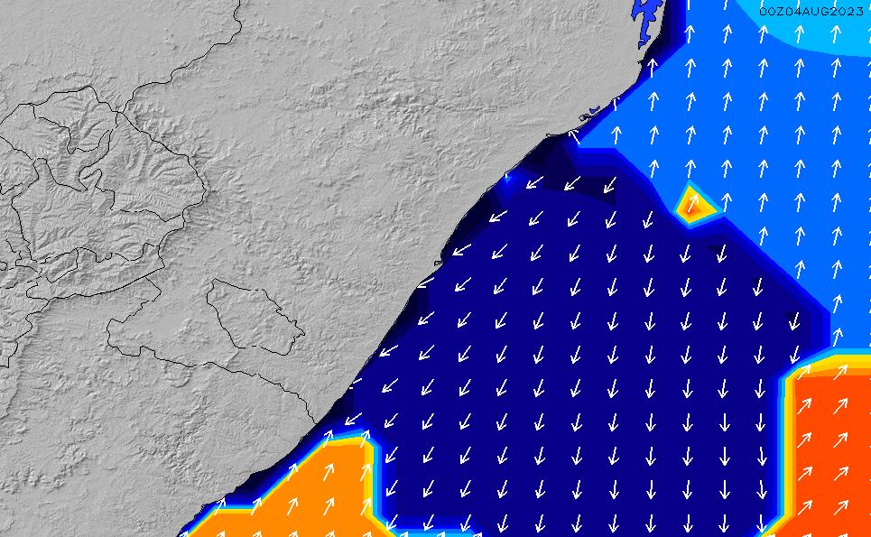 2021/3/3(水)14:00ポイントの波周期