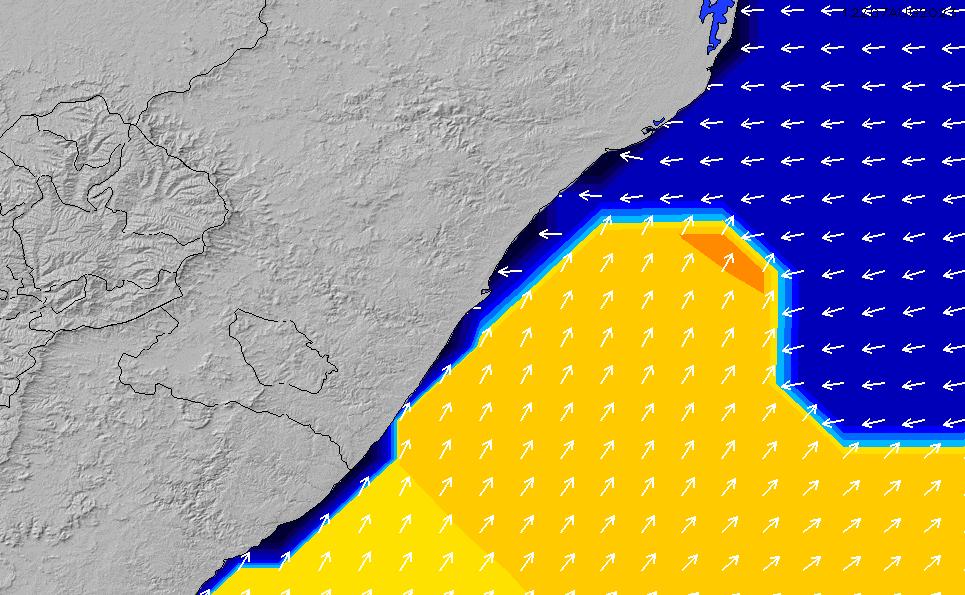 2021/5/17(月)20:00ポイントの波周期