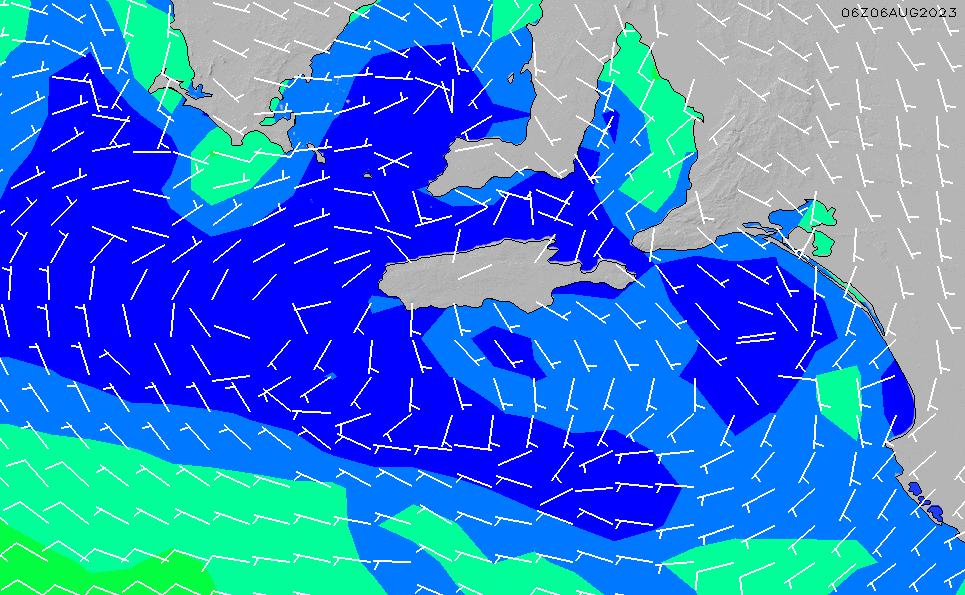 2020/9/30(水)21:00風速・風向
