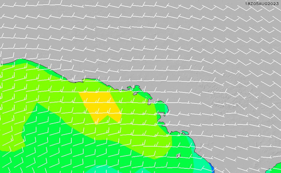 2020/4/2(木)10:00風速・風向