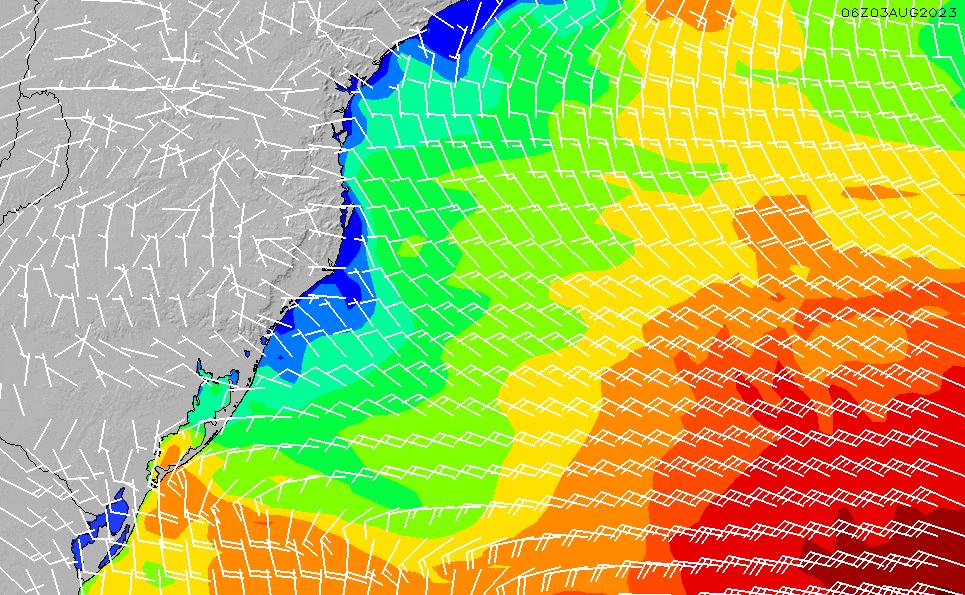 2021/3/2(火)9:00風速・風向