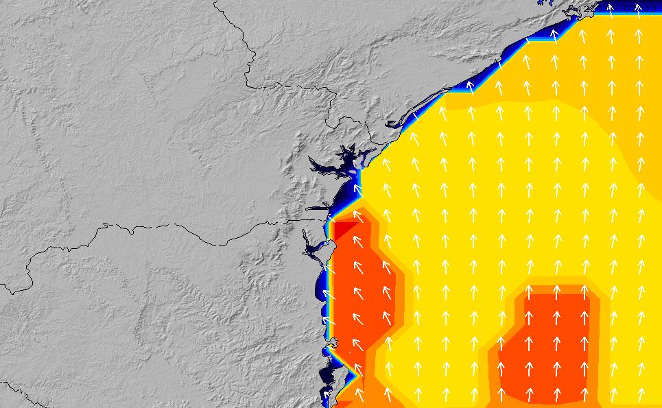 2021/3/8(月)3:00ポイントの波周期