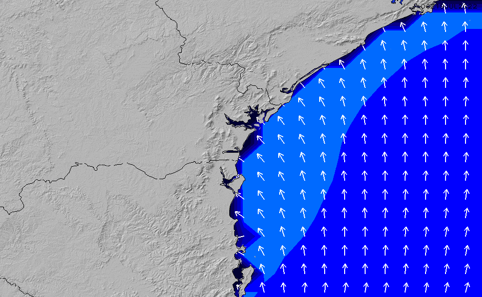 2021/5/10(月)15:00ポイントの波周期