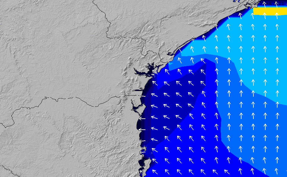 2020/9/28(月)15:00ポイントの波周期