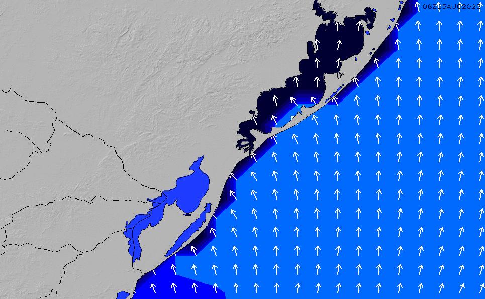 2020/10/2(金)9:00ポイントの波周期