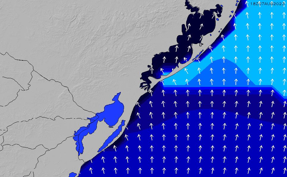 2021/10/23(土)9:00ポイントの波周期