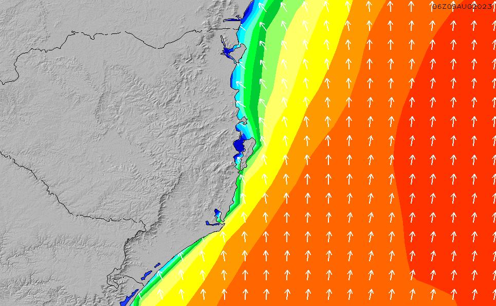 2021/5/12(水)9:00波高チャート
