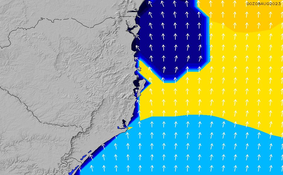 2020/10/2(金)21:00ポイントの波周期
