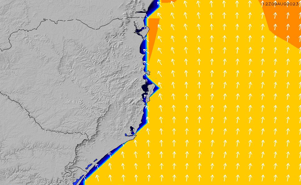 2021/5/11(火)21:00ポイントの波周期