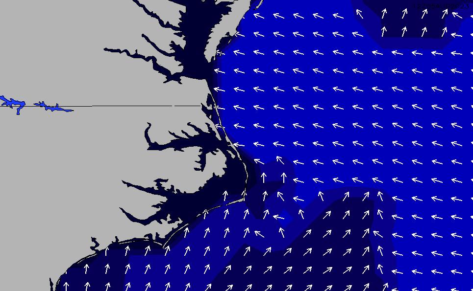 2021/5/9(日)4:00ポイントの波周期