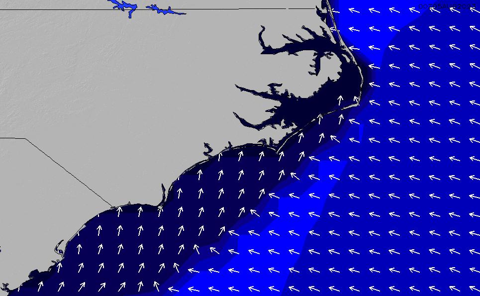 2021/1/28(木)23:00ポイントの波周期