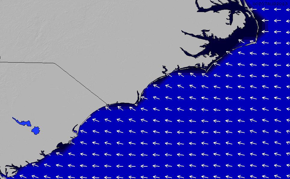 2021/2/26(金)17:00ポイントの波周期