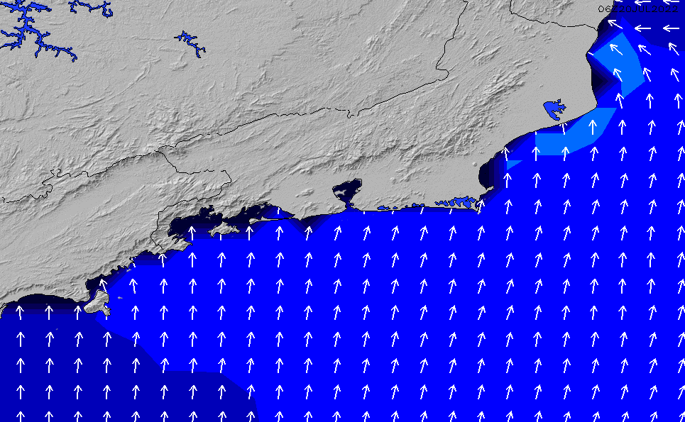 2020/9/29(火)21:00ポイントの波周期