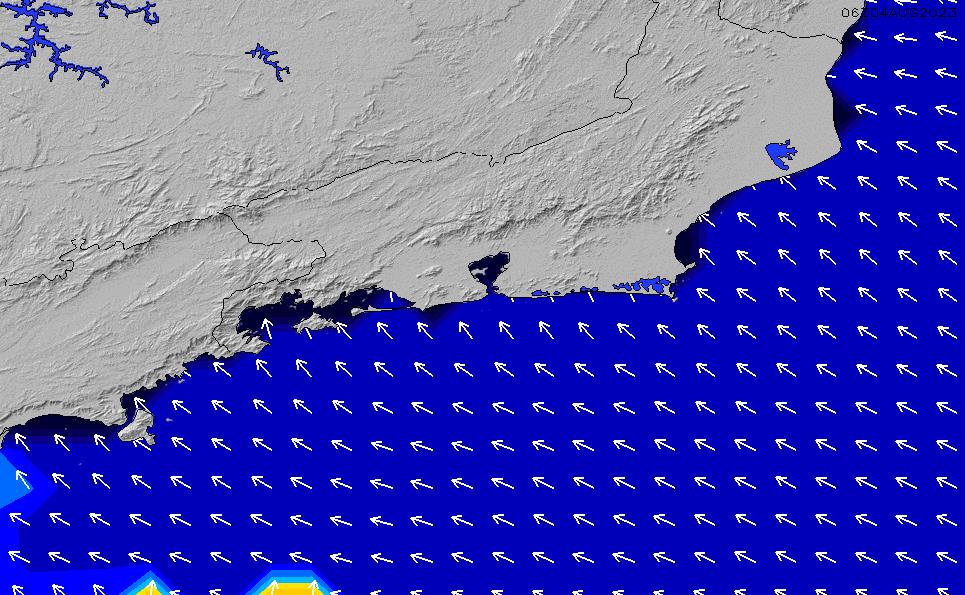 2021/3/8(月)9:00ポイントの波周期