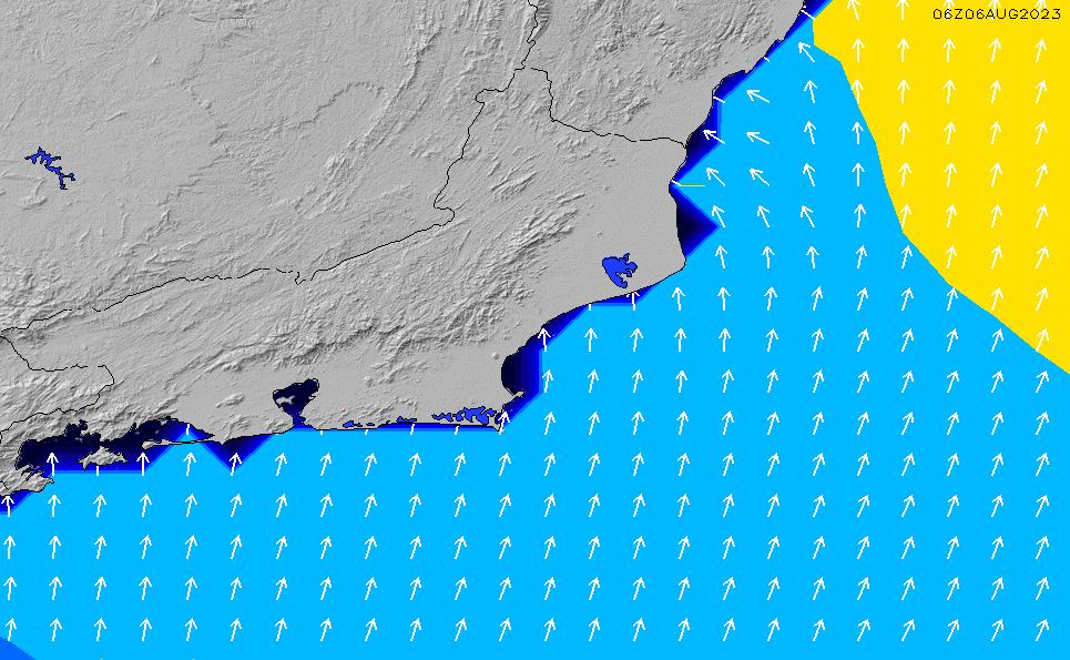 2020/9/27(日)21:00ポイントの波周期
