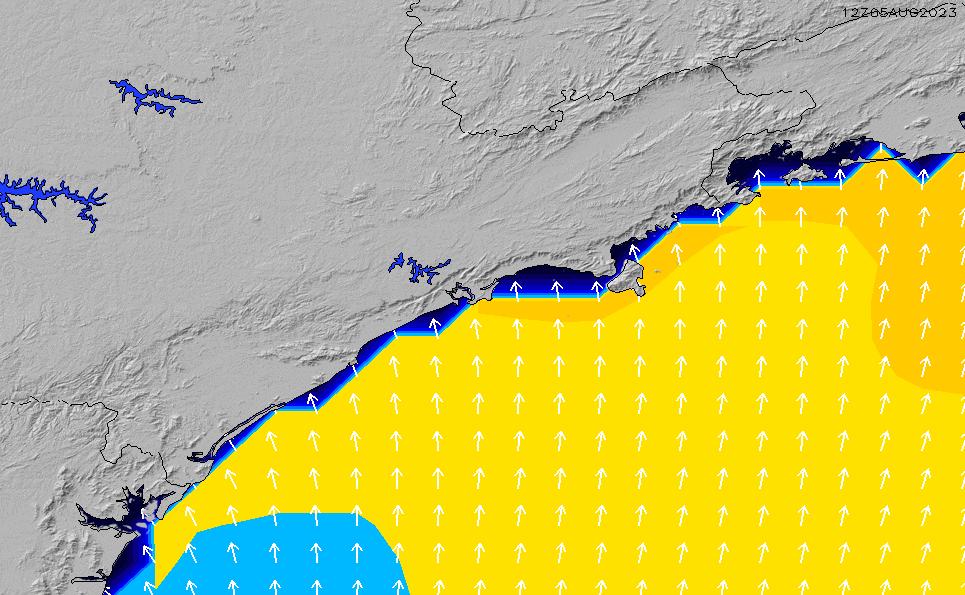 2021/3/6(土)3:00ポイントの波周期