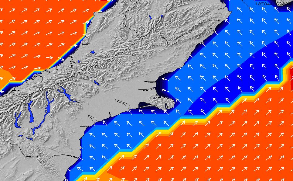 2020/9/27(日)18:00ポイントの波周期