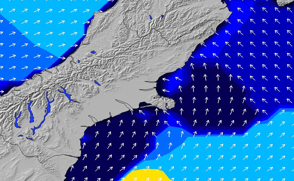 2020/9/21(月)18:00ポイントの波周期