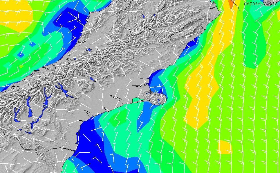 2020/9/27(日)18:00風速・風向