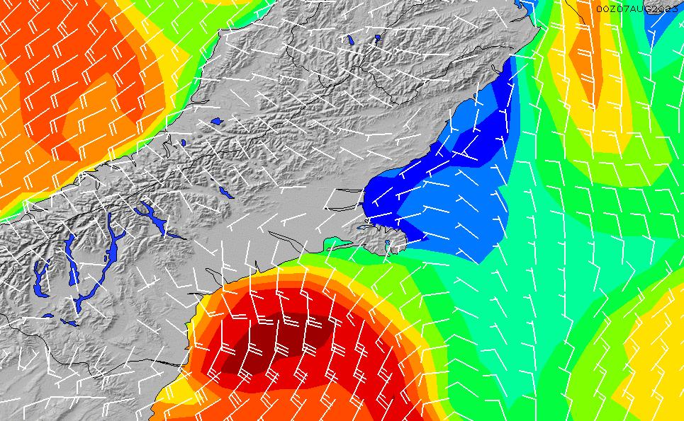 2020/4/3(金)1:00風速・風向