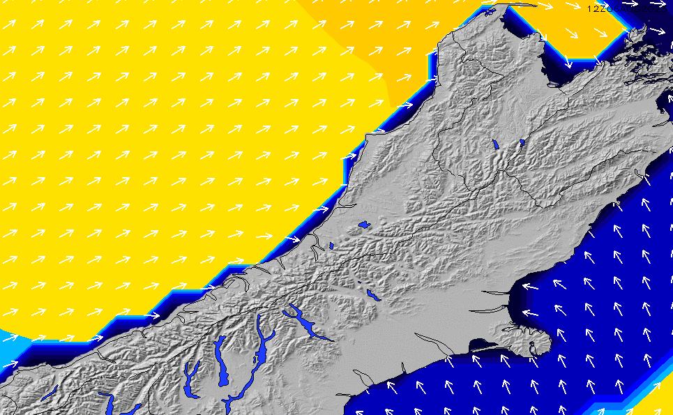 2021/3/9(火)19:00ポイントの波周期