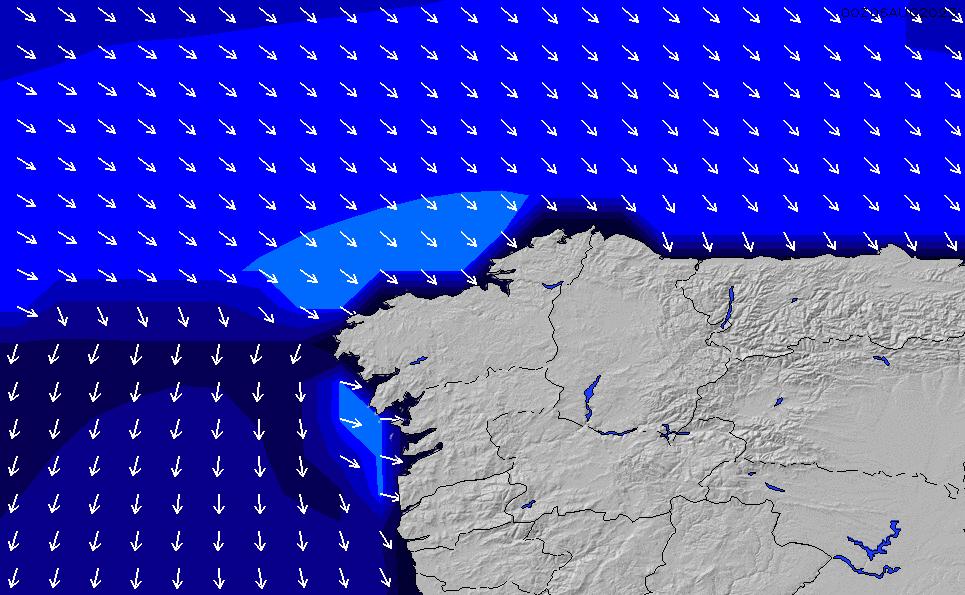 2021/2/26(金)1:00ポイントの波周期