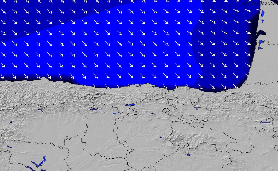 2020/9/29(火)2:00ポイントの波周期