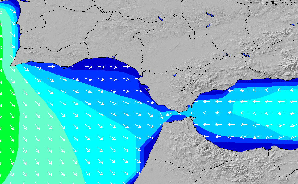 Map Of South West Spain.Southwest Spain Wave Height Forecast Chart Surfline