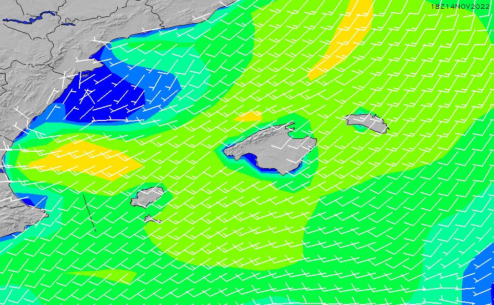 2020/8/5(水)2:00風速・風向