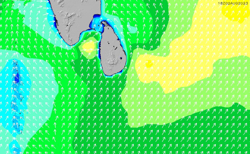 2021/5/12(水)23:00波高チャート