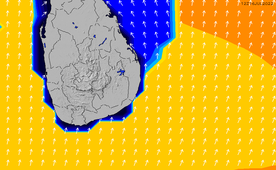 2021/5/9(日)11:00ポイントの波周期