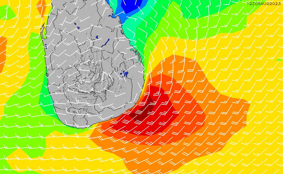 2020/7/3(金)17:00風速・風向