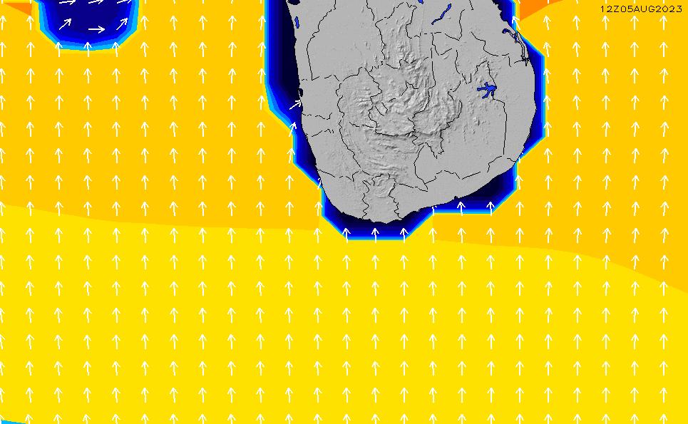 2020/4/2(木)17:00ポイントの波周期