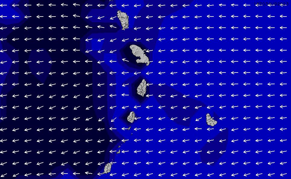 2021/3/6(土)10:00ポイントの波周期